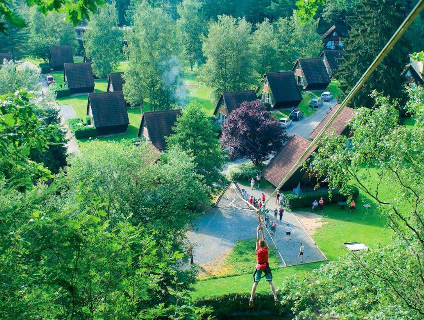 Domaine Long Pre overnachting Ardennen met kinderen
