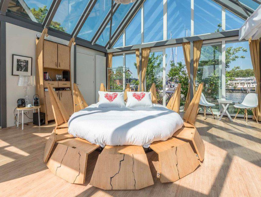 The Panorama Suite bijzonder overnachten omgeving Amsterdam
