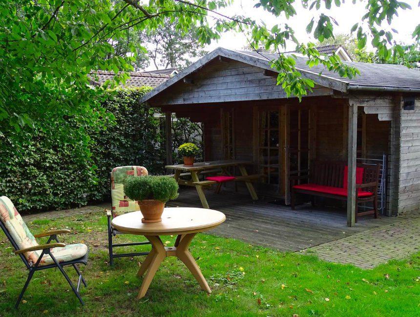 Tuinhuis overnachting Zeijen Nederland
