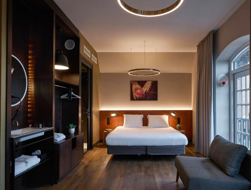 bijzonder overnachten Noord-Brabant Hotel Marienhage