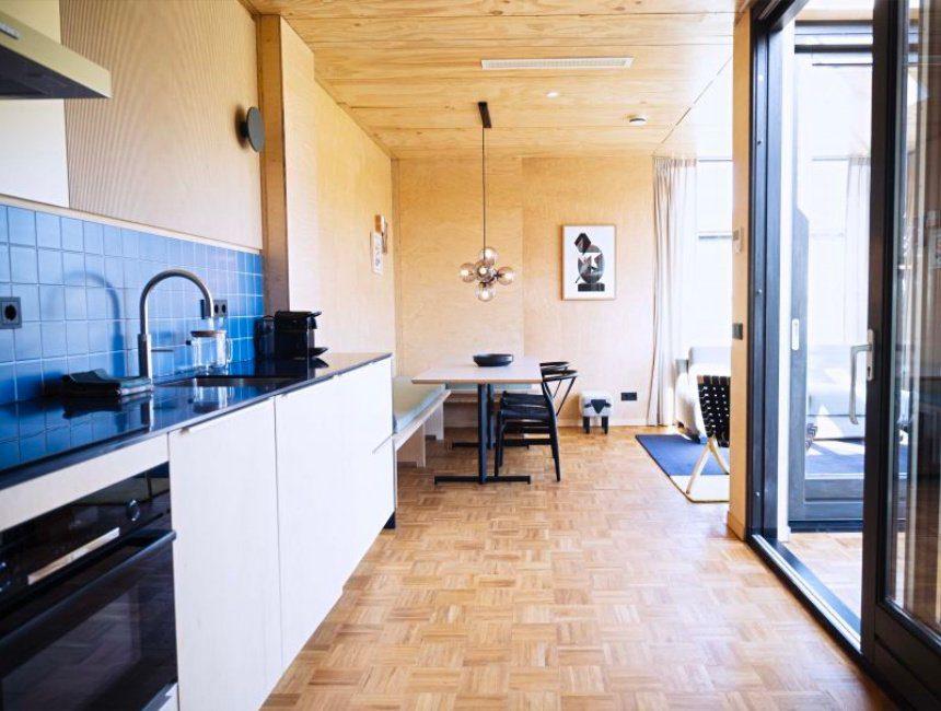 cabin bijzonder overnachten omgeving Amsterdam