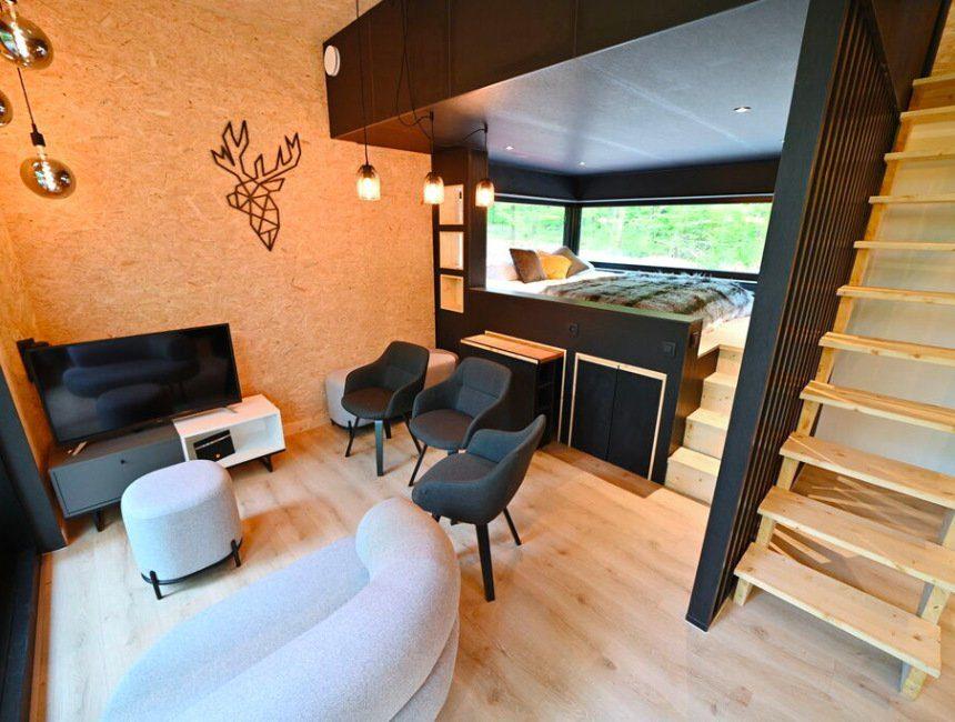 hondvriendelijke hotels Ardennen eco lodge