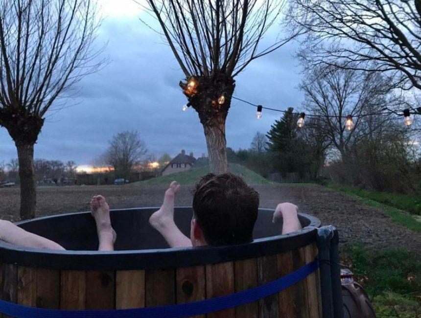 hot tub Schijndel yurt