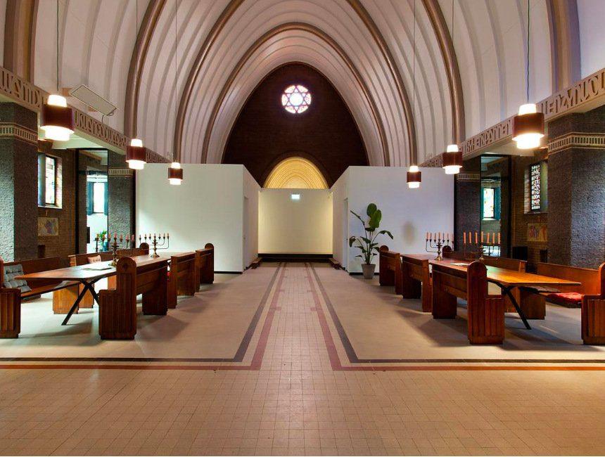 origineel overnachten Veluwe kerk
