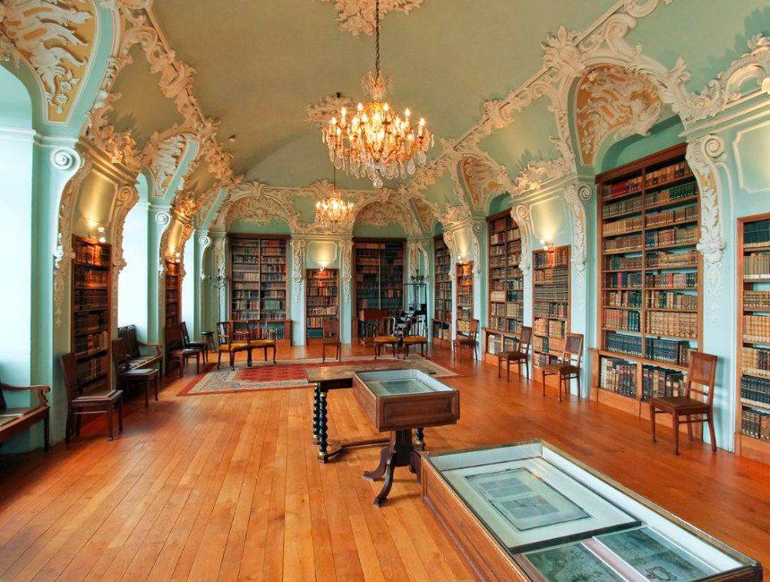 Abdij Hotel Rolduc bibliotheek