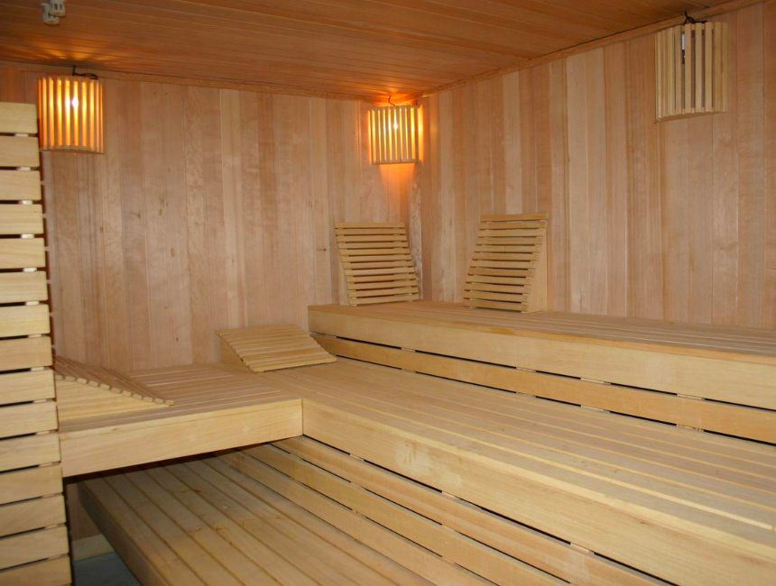 Wellness Suites Dellewal sauna