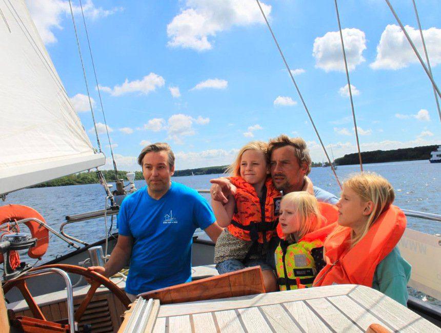 Zeilboot Noorderlicht kindvriendelijk logeren