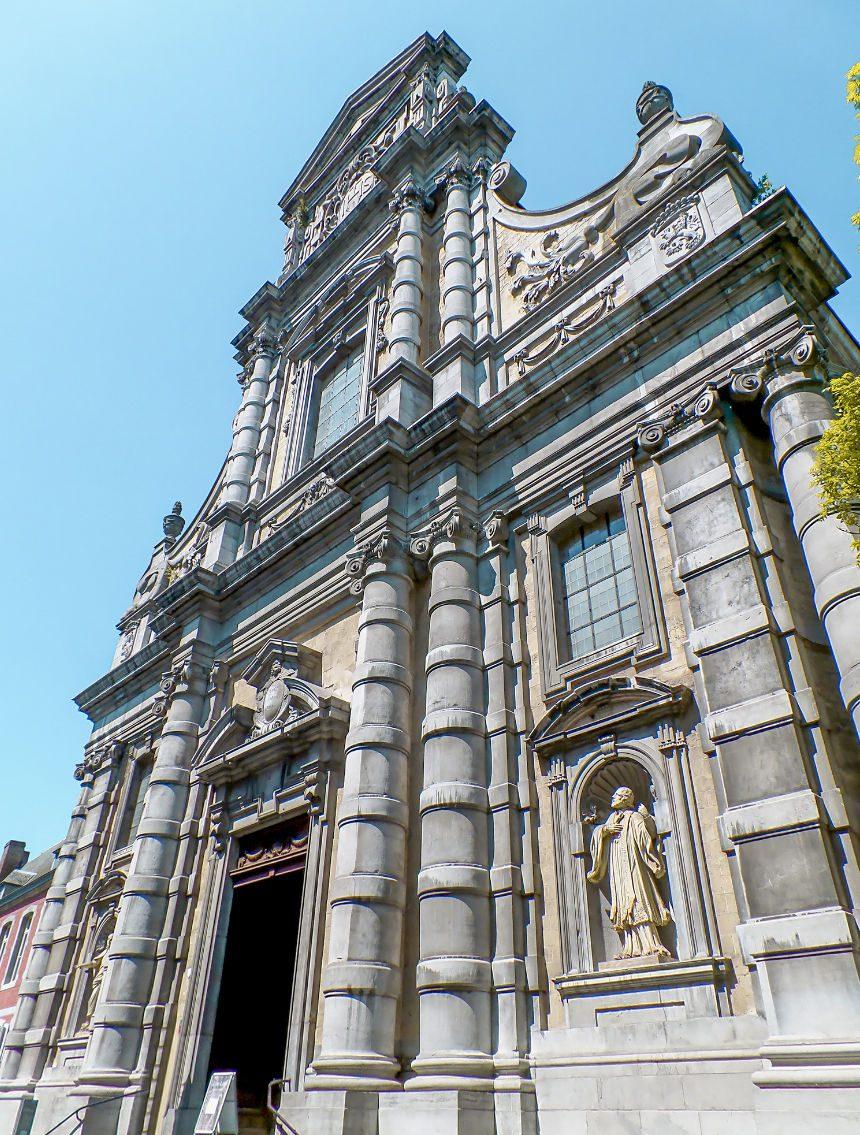 Kerk van Saint-Loup bezienswaardigheden Namur