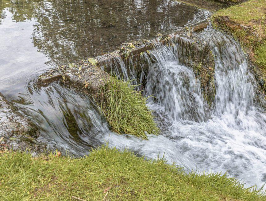 tuinen van Annevoie watervallen