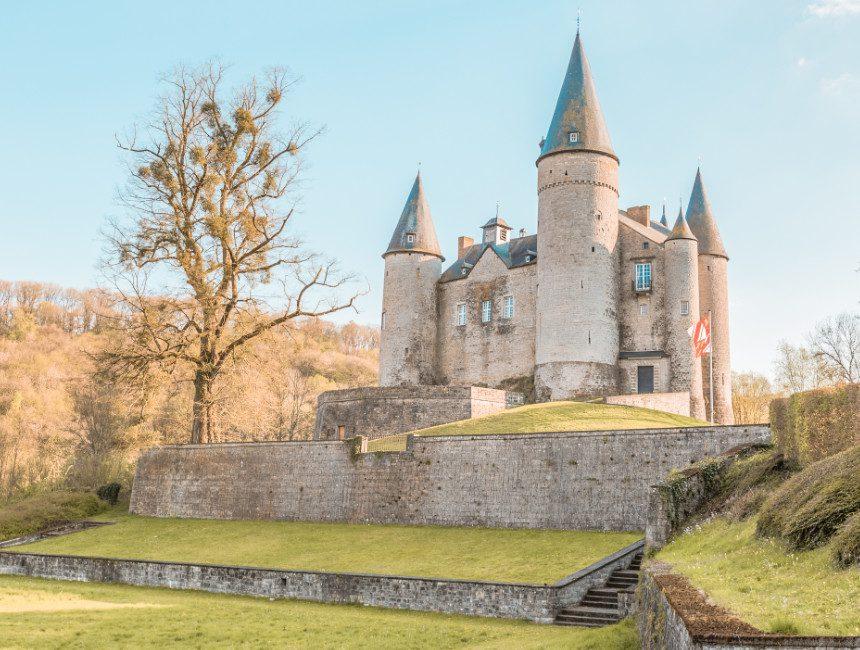 bezienswaardigheden Namen en omgeving kasteel van veves