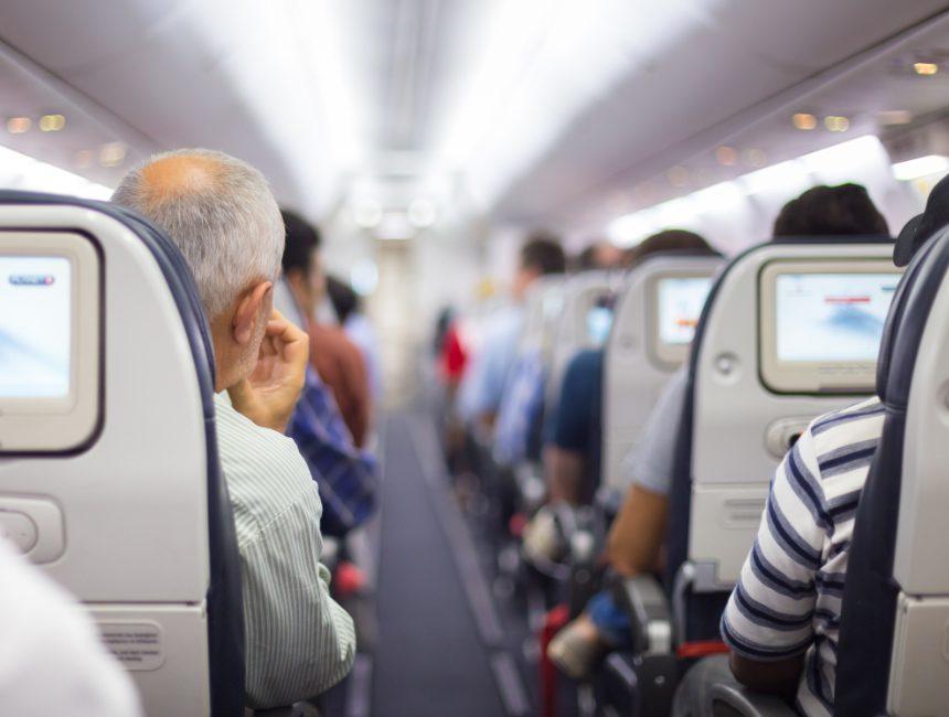gangpad vliegtuig