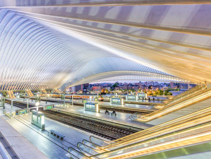 Luik-Guillemins treinstation bezienswaardigheden Ardennen