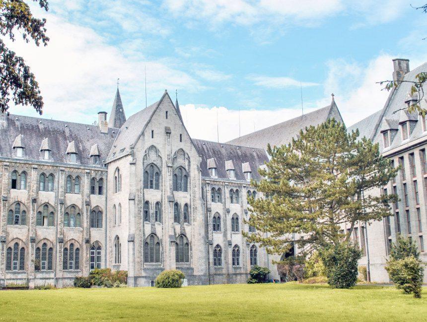 bezienswaardigheden Ardennen abdij van Maredsous