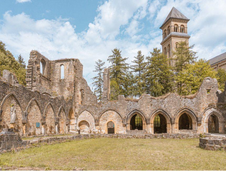 bezienswaardigheden Ardennen abdij van Orval