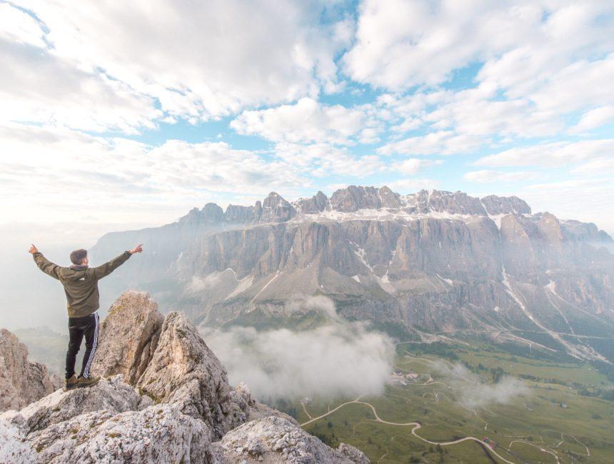 Grand Cir hike vakantie Dolomieten