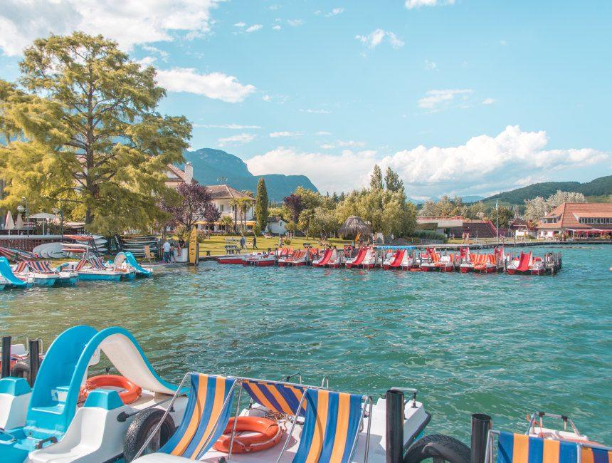 Kaltern See vakantie Zuid Tirol