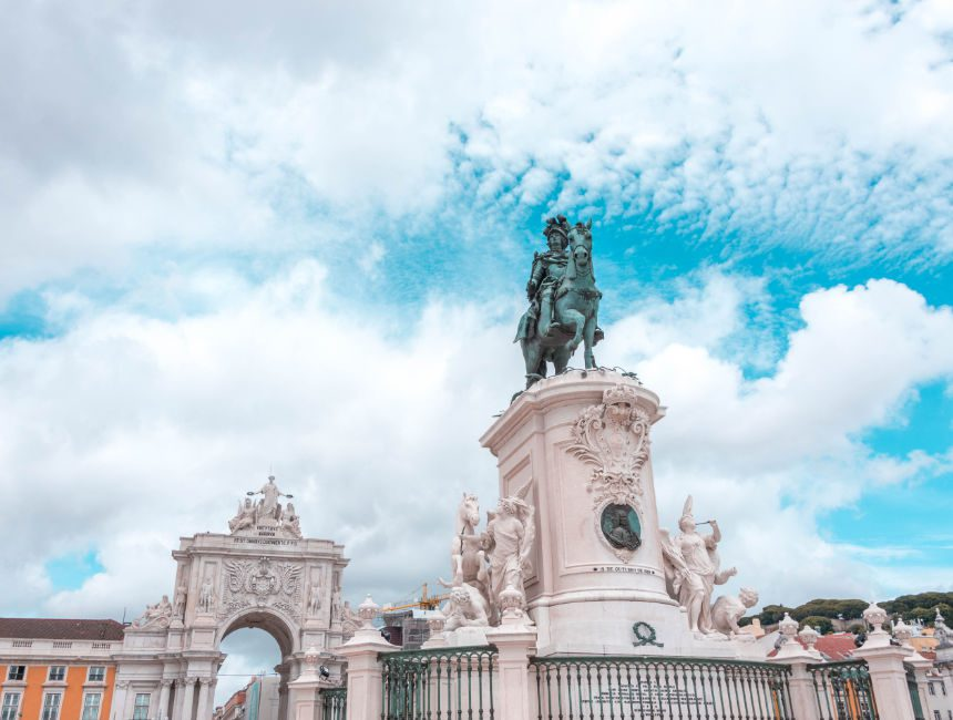 dingen om te doen in lissabon arco do triunfo