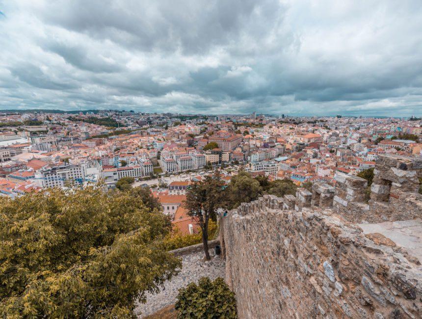 Sao Jorge kasteel Lissabon