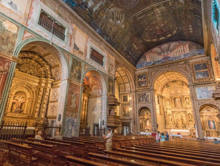 dingen om te doen in Madeira Sao Joao Evangelista kerk