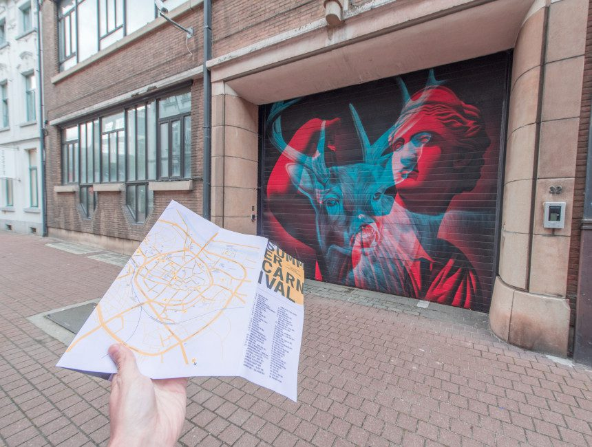 Graffiti street art tour Hasselt