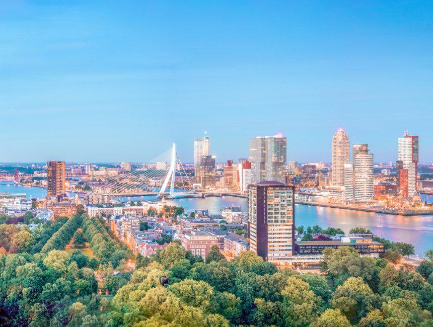 bezienswaardigheden Rotterdam Euromast uitzicht