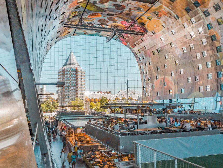 bezienswaardigheden Rotterdam Markthal