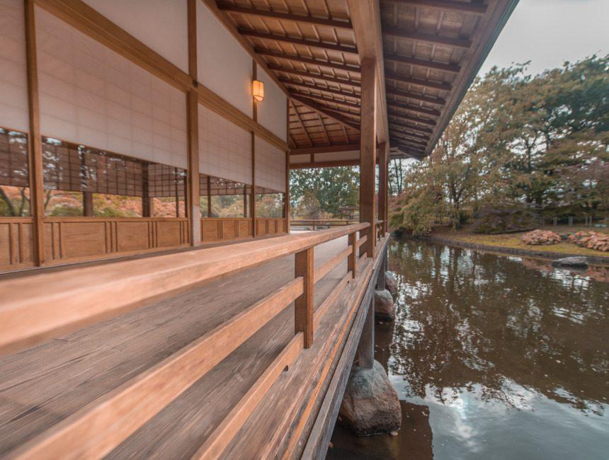 ceremoniehuis Japanse Tuin Hasselt