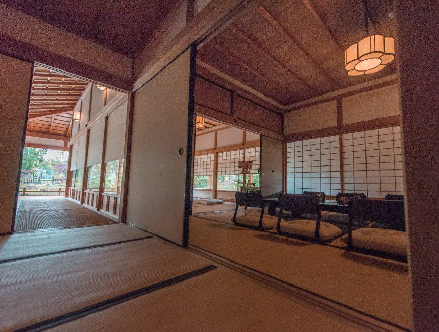 ceremoniehuis binnenin