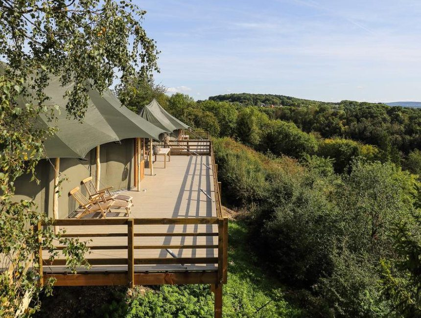 glamping Durbuy Adventure Valley