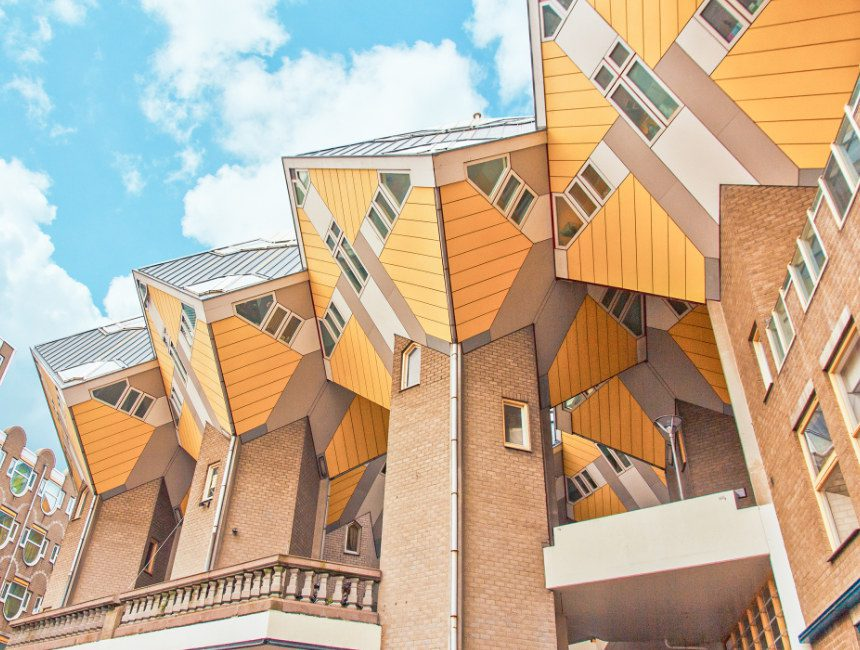 hoogtepunten Rotterdam kubuswoningen