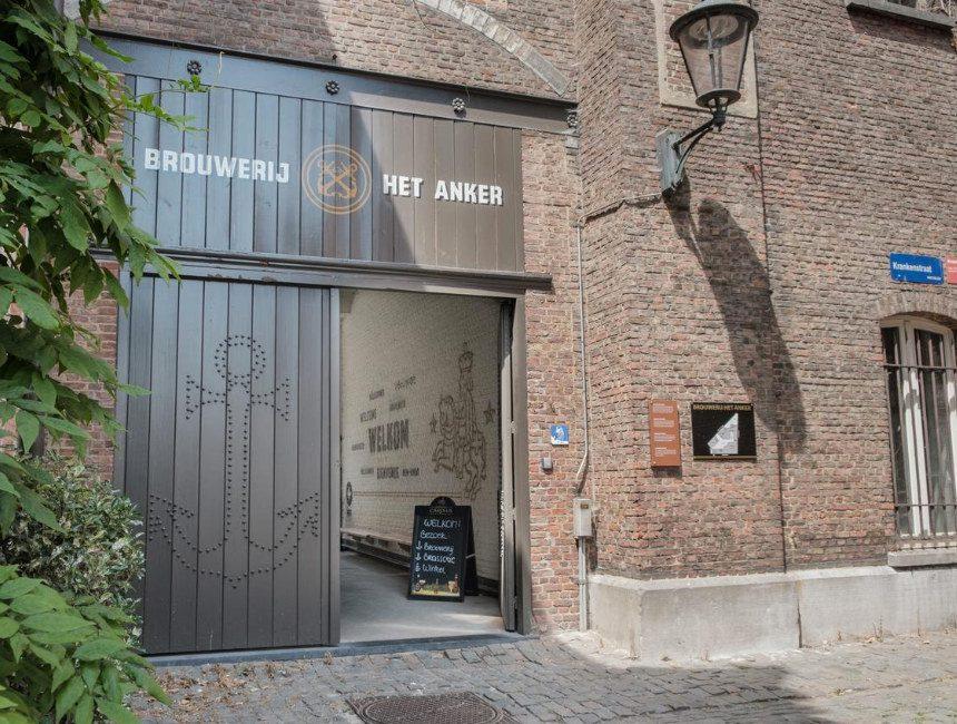 origineel overnachten Antwerpen Hotel Brouwerij Het Anker