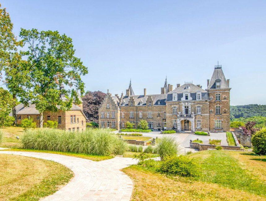 origineel overnachten belgie Le Chateau de La Poste