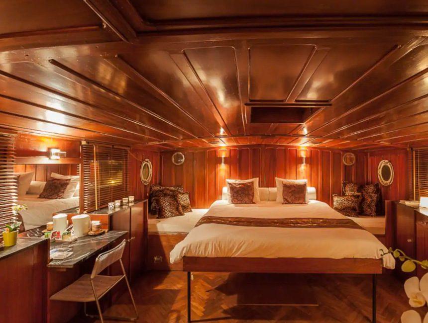 origineel overnachten boot Gent