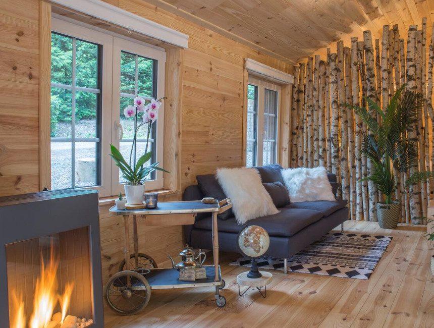 overnachten in boomhut Belgie Wooden Nest