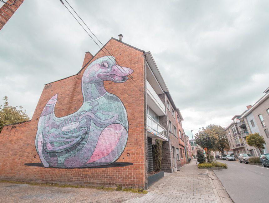 street art tour Hasselt bezienswaardigheden