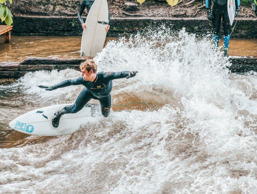 surfen grachten rotterdam