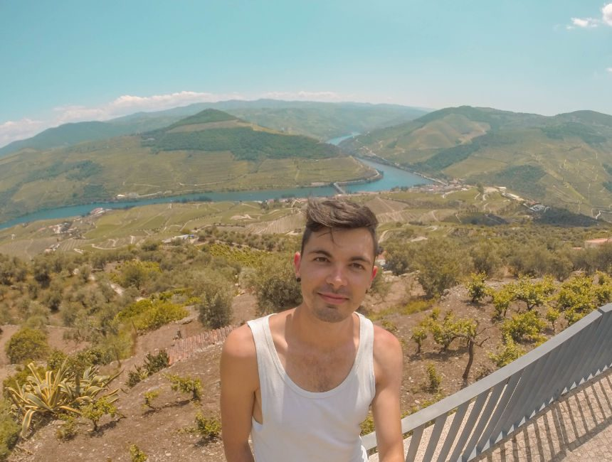 Loivos uitzichtpunt douro vallei
