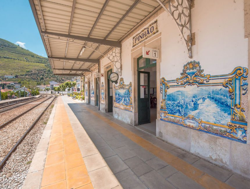 Pinhao station douro vallei portugal