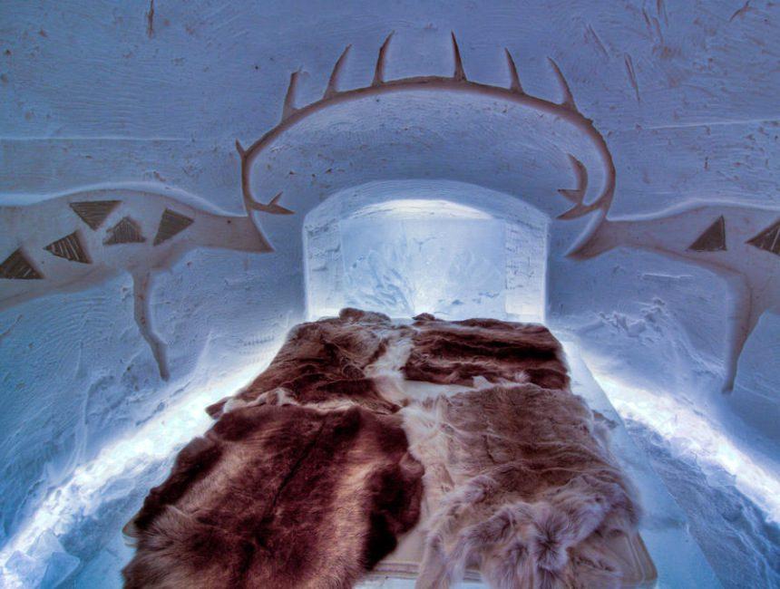 arctic snowhotel rovaniemi kerstman finland