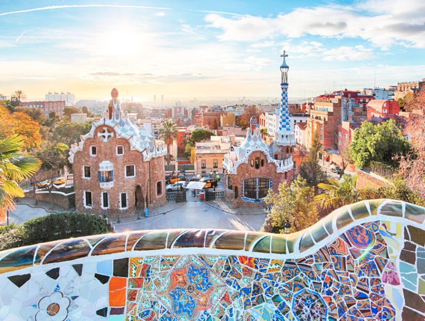 bezienswaardigheden barcelona park guell