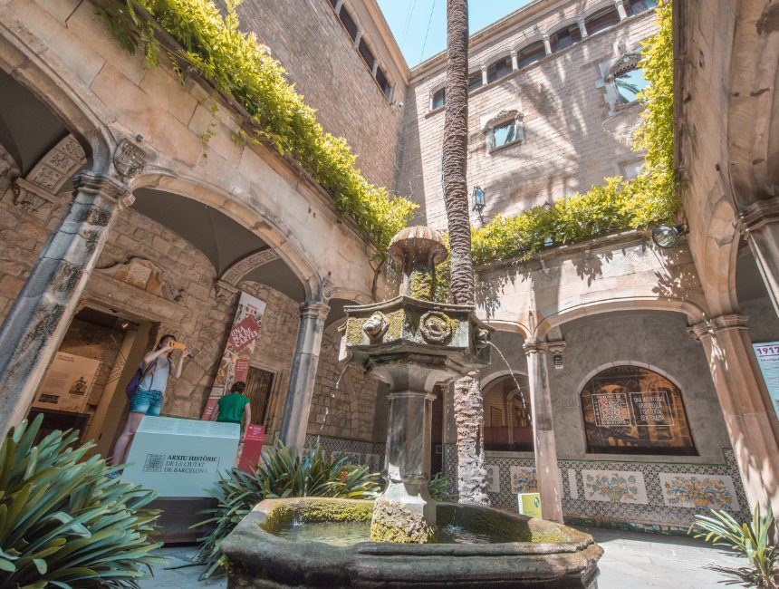 casa de l'ardiaca Barcelona
