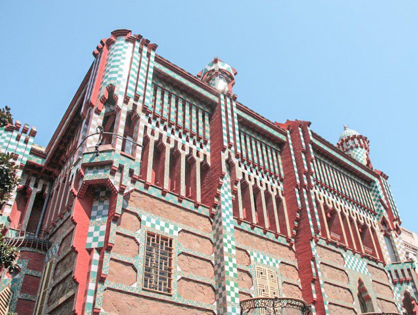 casa vicens bezienswaardigheden barcelona gaudi