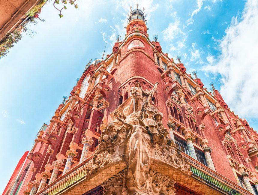 dingen om te doen in barcelona palau de la musica catalana