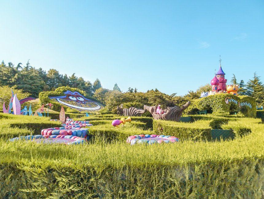 eurodisney alices curious labyrinth disneyland parijs