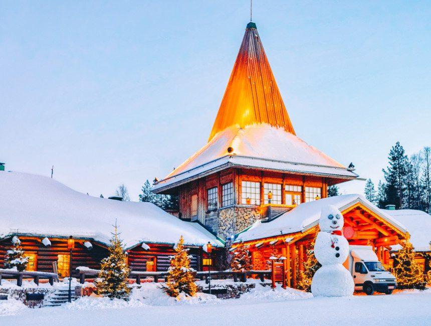 santas village Rovaniemi