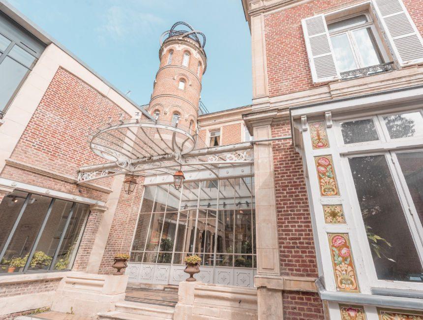 huis van Jules Verne Amiens