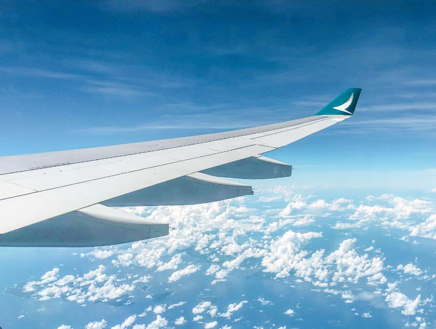 cathay pacific vliegtuig logo