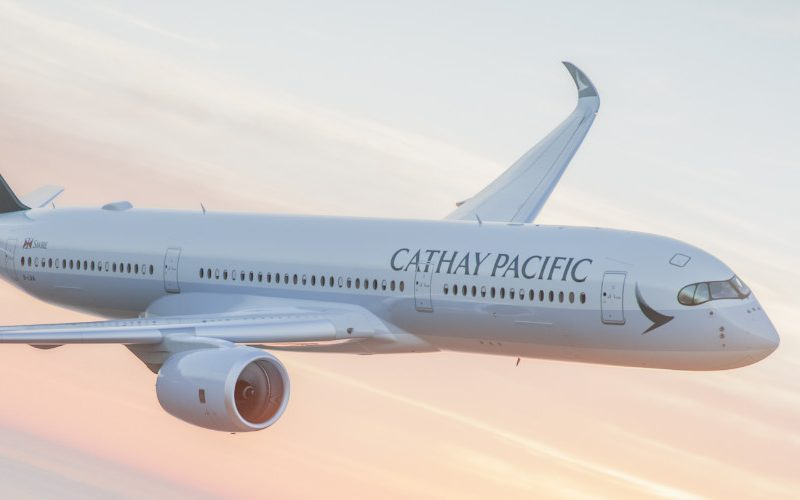 cathay pacific vlucht brussel hong kong