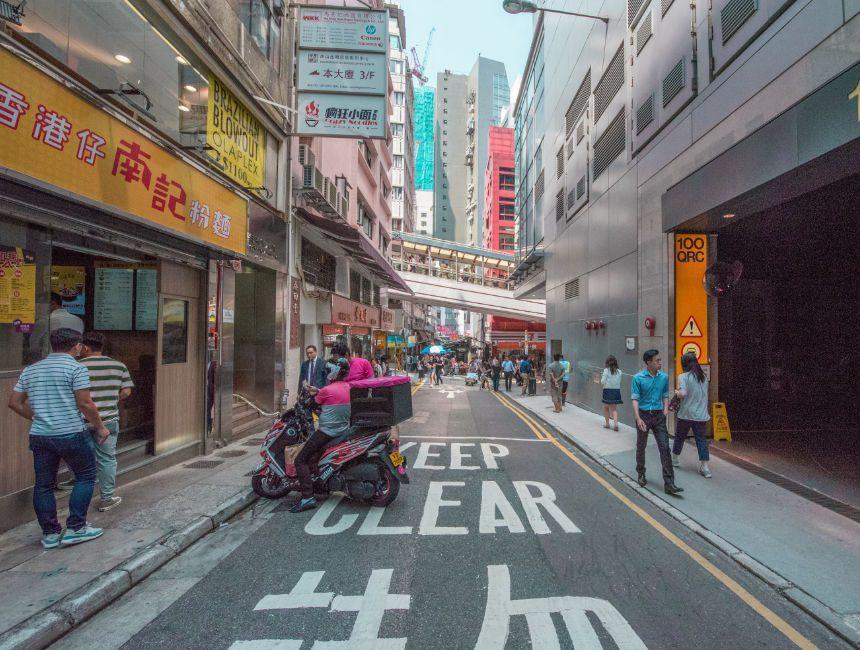 central mid levels escalator hong kong