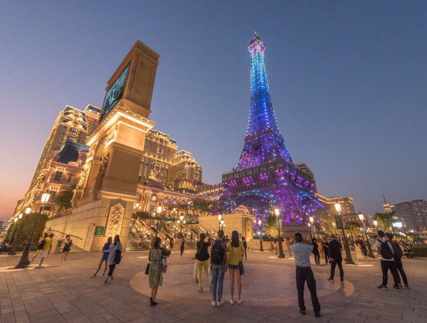 Hong Kong naar Macau the parisian
